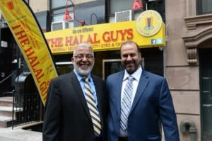 USA:  The Halal Guys food cart is opening its first restaurant