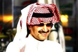 Saudi billionaire Prince Alwaleed bin Talal.