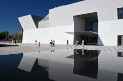 View of the Aga Khan Museum in Toronto, exterior. — Reuters pic