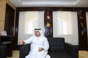Abdullah Al Awar, CEO of Dubai Islamic Economy Development Centre. Sarah Dea / The National