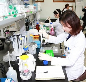 South Korea lab