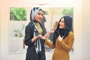 Yuna and Tajima spoke about fashion as a tool to change perceptions, attitudes and anxieties surrounding the hijab. — Picture by Azinuddin