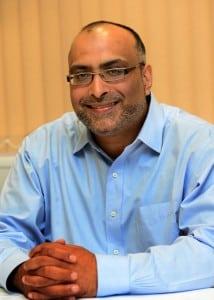 MD of CK Foods, Bradford, Omar Bhamji. Picture Scott Merrylees