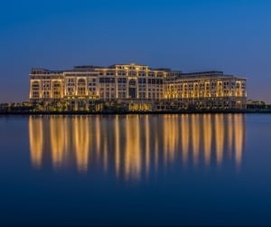 The new Palazzo Versace Dubai - venue for the Middle East Hotel Awards 2016