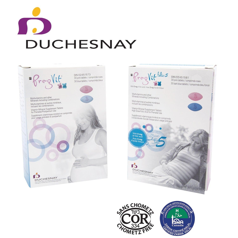 Duchesnay – Launches Formulation of Pregvit and Pregvit