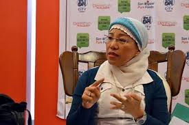 Mindanao Islamic Chamber of Commerce Inc. (MICCI) Executive secretary and co-founder and Universal Islamic Center President Marilou Ampuan