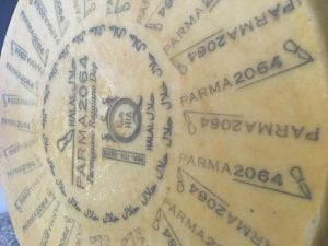 UK: 'Parma 2064' Halal Parmigiano Reggiano cheese has