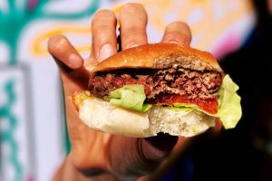 Opinion: Veggie burgers were living an idyllic little existence. Then they got caught in the war over meat.