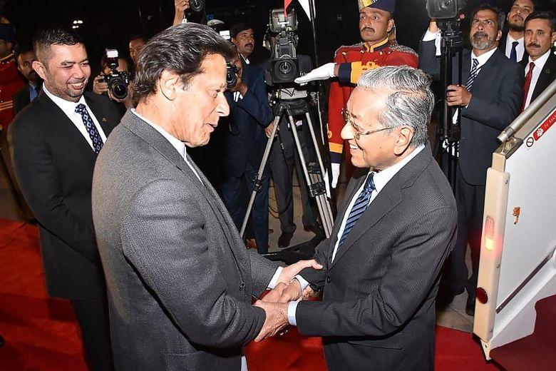 Mahathir and Imran Khan